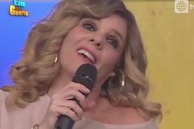 EEG: Johanna San Miguel grita su amor por Stefano Salvini en vivo [VIDEO]