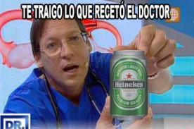 Mira los memes del Dr. TV por haber manejado borracho