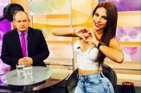 Álamo Pérez Luna no se resistió a las curvas de Stephanie Valenzuela - FOTO