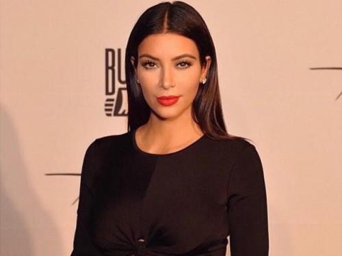 ¡Kim Kardashian compartió truco para lucir un escote ideal!