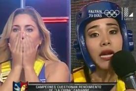 RDC: Yamila Piñero quiso 'matar' a la China Fabianne en vivo - VIDEO