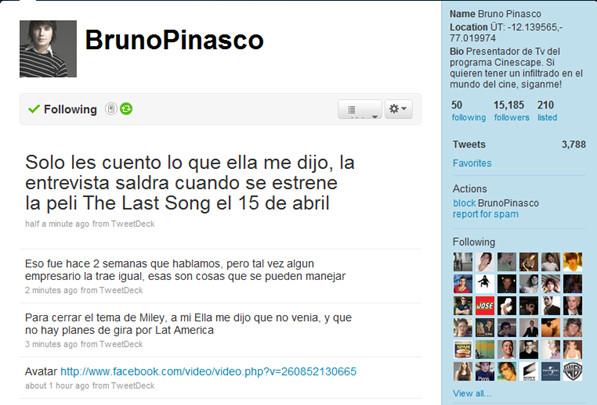 Bruno Pinasco y Jennifer Aniston recordaron las épocas de Friends