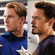 Chris Evans y Robert Downey Jr en nueva fotografía de The Avengers