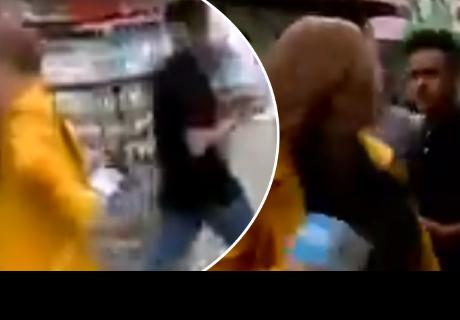 Ladrones intentan robarle a periodista cuando realizaba transmisión en vivo