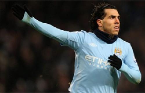Manchester City rechaza oferta de Inter por Carlos Tévez