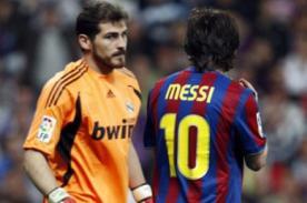 Lionel Messi, la pesadilla de Casillas con 13 goles en 16 partidos