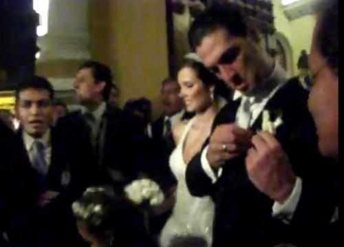 Video: Esposo de Maju Mantilla sufre incidente en plena boda