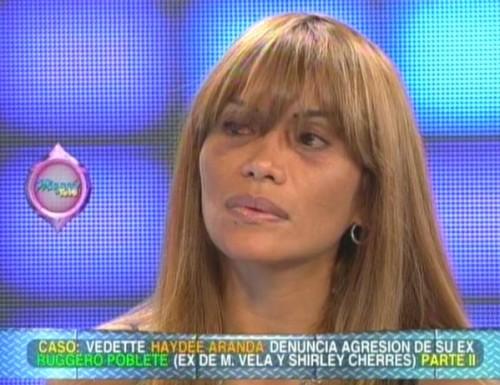 Haydeé Aranda: Maribel Velarde está metida en la mafia (Video)