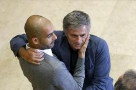 Video: El día en que Mourinho y Guardiola fueron como padre e hijo