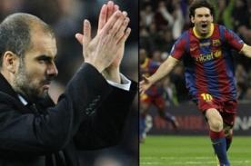 Pep Guardiola quiere darle el Balón de Oro a Lionel Messi