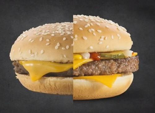 Video: Revelan el truco para que las hamburguesas luzcan más deliciosas en TV