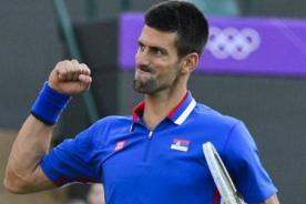 Olimpiadas 2012: Novak Djokovic avanza sin problemas a octavos de final