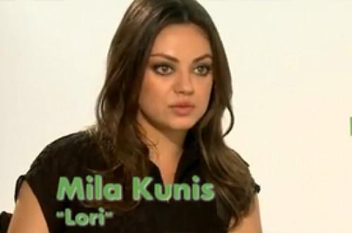 Video: Bruno Pinasco entrevistó a Mila Kunis por la película 'TED'