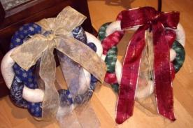 Adornos navideños: Haz una Corona de Navidad para tu puerta