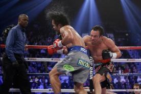 Manny Pacquiao fue suspendido por cuatro meses tras brutal KO de Márquez
