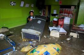 Fotos: Así quedaron las calles de Villa María del Triunfo tras inundación