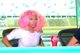 Nicki Minaj se retiró del set de American Idol tras una discusión - Video