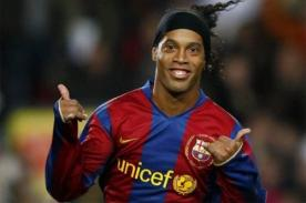 El fútbol está de fiesta: Hoy es cumpleaños de Ronaldinho