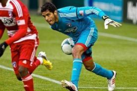 Raúl Fernández es el mejor jugador del mes de abril en la MLS