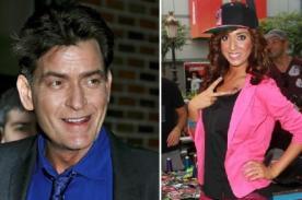 Charlie Sheen rechaza a Farrah Abraham con fuerte carta