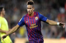Neymar anotó su primer gol con la camiseta del Barcelona - Video