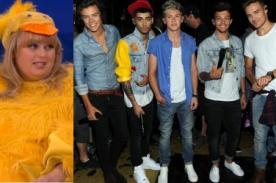 Rebel Wilson se vengó de One Direction porque no la reconocieron - Video
