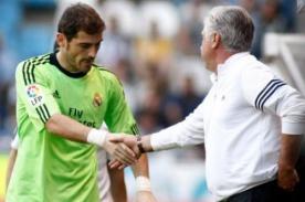 Carlo Ancelotti: Necesito una conversación privada con Iker Casillas