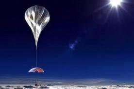 Turistas podrán viajar a la estratósfera en globo aerostático