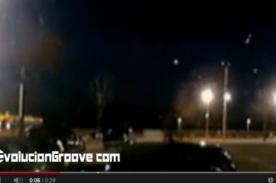 Video: Meteorito zurcó el cielo de Los Angeles según testigos