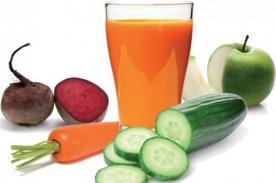 Jugo de verduras podría ayudarte a bajar de peso - Entérate