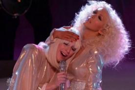 Lady Gaga y Christina Aguilera brillaron juntas en el escenario - Video