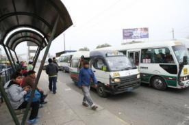 No más combis: Vehículos dejarán de circular en 2015