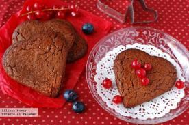 Recetas de San Valentín: Sencillas galletas corazón de Nutella
