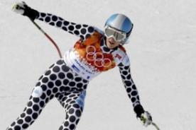 Sochi 2014: Esquiadora causó sensación por usar este extraño traje - Foto