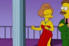 La escena del adiós de Edna Krabappel en Los Simpson - VIDEO