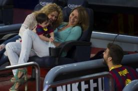 Shakira celebró pase a cuartos de final del Barcelona en Twitter
