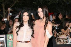 Kylie y Kendall Jenner aceptan invitación nocturna de Jaden Smith
