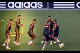 Real Madrid: Cristiano Ronaldo despistó a sus compañeros en un camotito - VIDEO