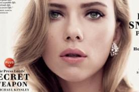 Scarlett Johansson luce llamativo escote en portada de Vanity Fair