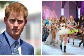 El Príncipe Harry es invitado de honor para el desfile de Victoria's Secret
