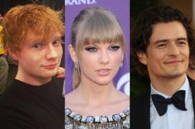 Ed Sheeran quiere que Taylor Swift conquiste a Orlando Bloom