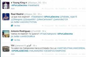 Final Champions League: Real Madrid usa hashtag #APorLaDécima para la final
