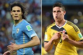 Minuto a minuto Uruguay vs Colombia (0-2) – Mundial Brasil 2014 – ATV En Vivo