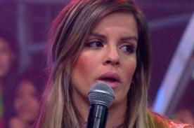 Combate: ¡Alejandra Baigorria explota y arremente con todo contra cibernautas!