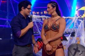 Combate: ¡Paloma Fiuza cumplió fantasías a todos con disfraz de la Princesa Leia! - VIDEO