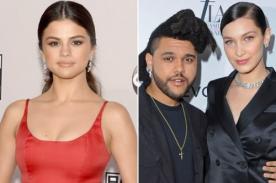Bella Hadid envía mensaje a The Weeknd y Selena Gomez