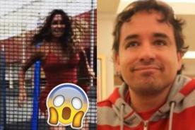 ¡Qué tal descuido! Novia de Roberto Martínez muestra todo en saltarín (VIDEO)
