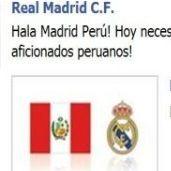 Real Madrid pide apoyo a los aficionados peruanos para derrotar al Barcelona