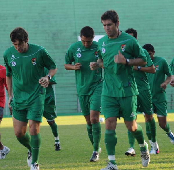 Bolivia vs Colombia: La selección boliviana prepara variantes