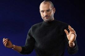 Muñeco de Steve Jobs sorprende por su increíble parecido
